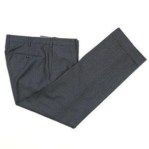 Incotex Flannel Wool Cashmere Dress Pants 35 X 29